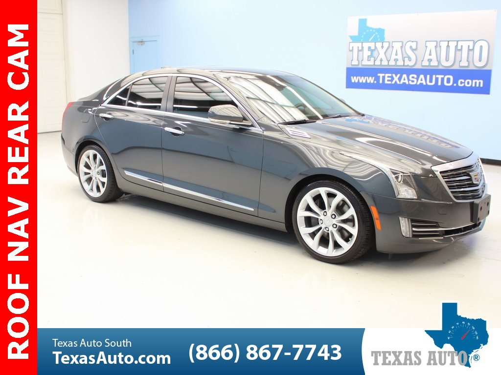 2015 Cadillac ATS 2.0L Turbo Premium DRIVER ASSIST & AWARENESS, NAVI