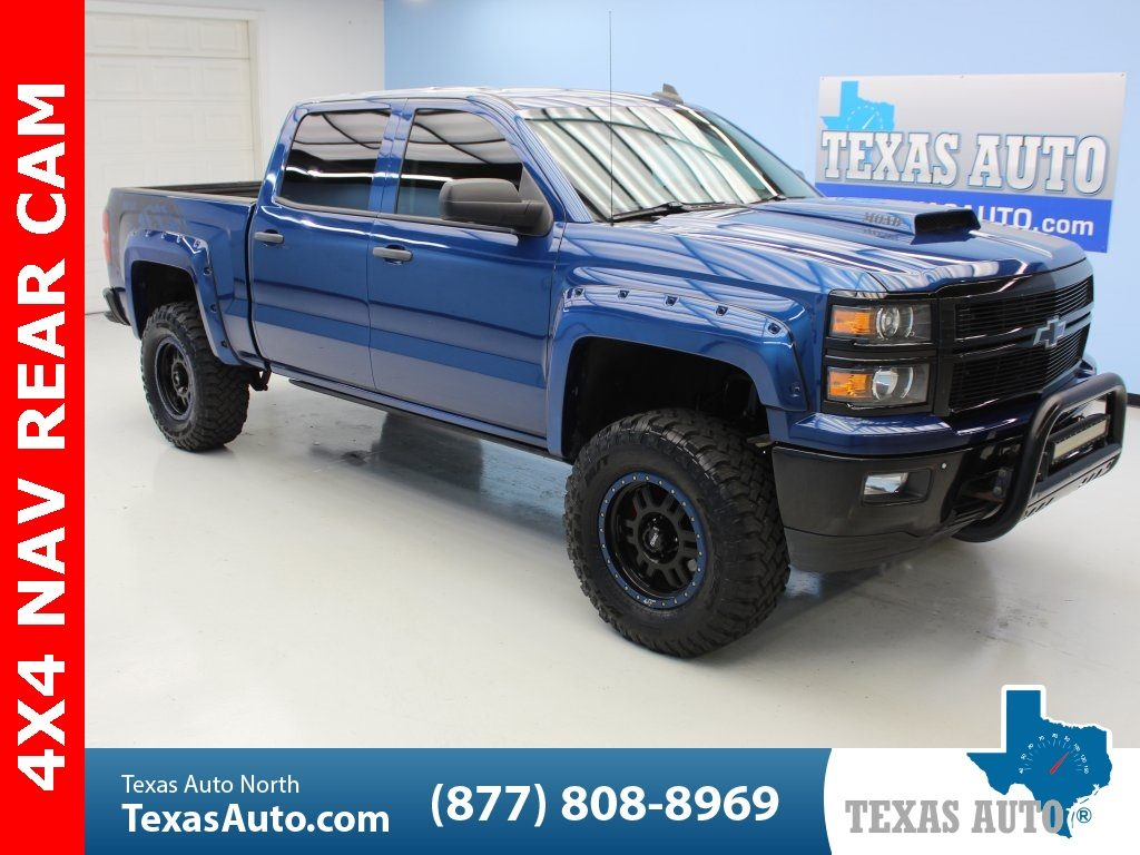 Sold 2015 Chevrolet Silverado 1500 Ltz Lifted 2lz Moab Tuscany Edition Navi In Houston