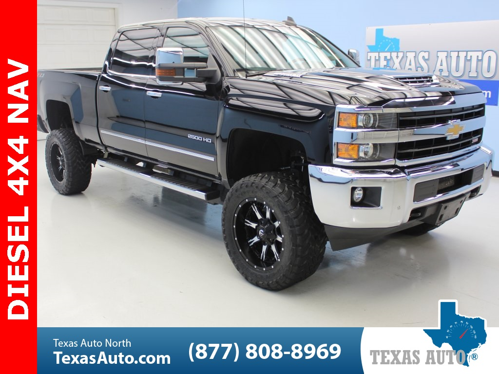 2018 Chevrolet Silverado 2500HD LTZ Z71, DRIVE ALERT, NAVI, PLUS PACKAGE