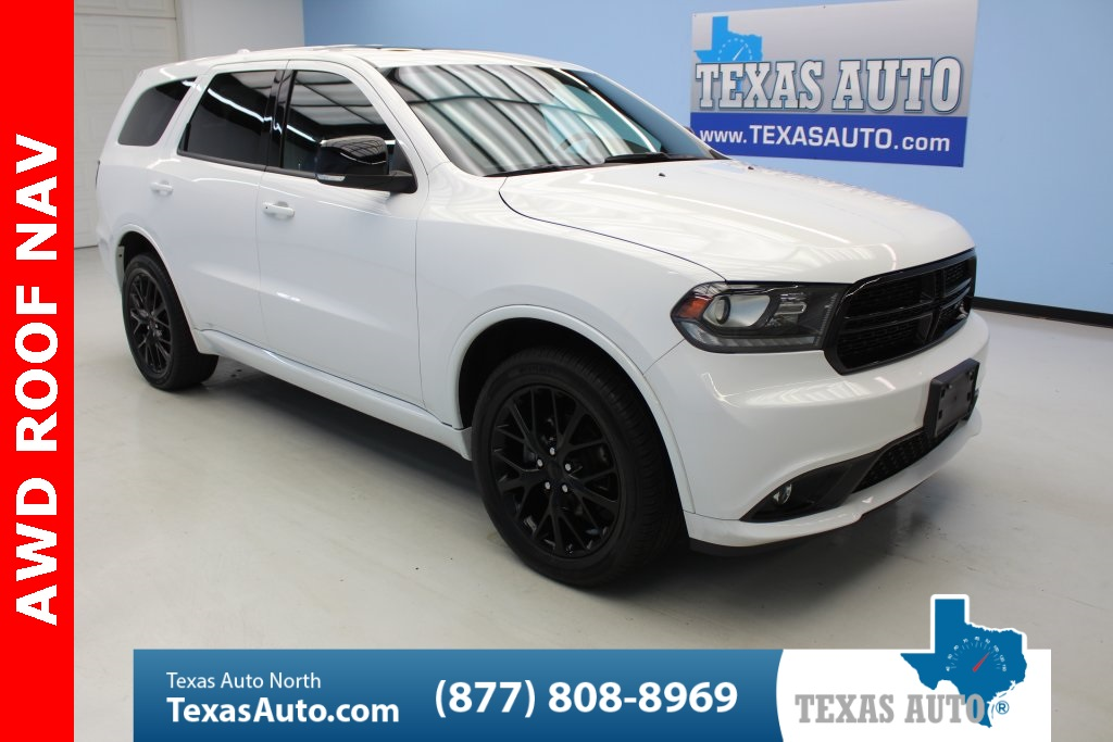 2016 Dodge Durango Limited BLACK TOP EDITION-ROOF-NAVI