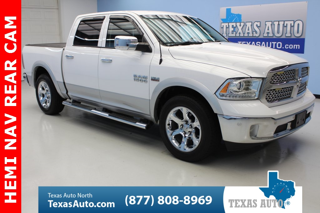 2015 Ram 1500 Laramie NAVI-TOW-BOARDS-LEATHER