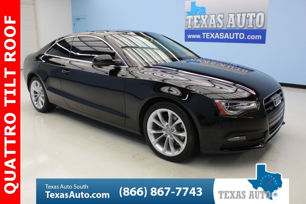 2013 Audi A5 2.0T Premium QUATTRO-CONVENIENCE PKG-LIGHTING PKG
