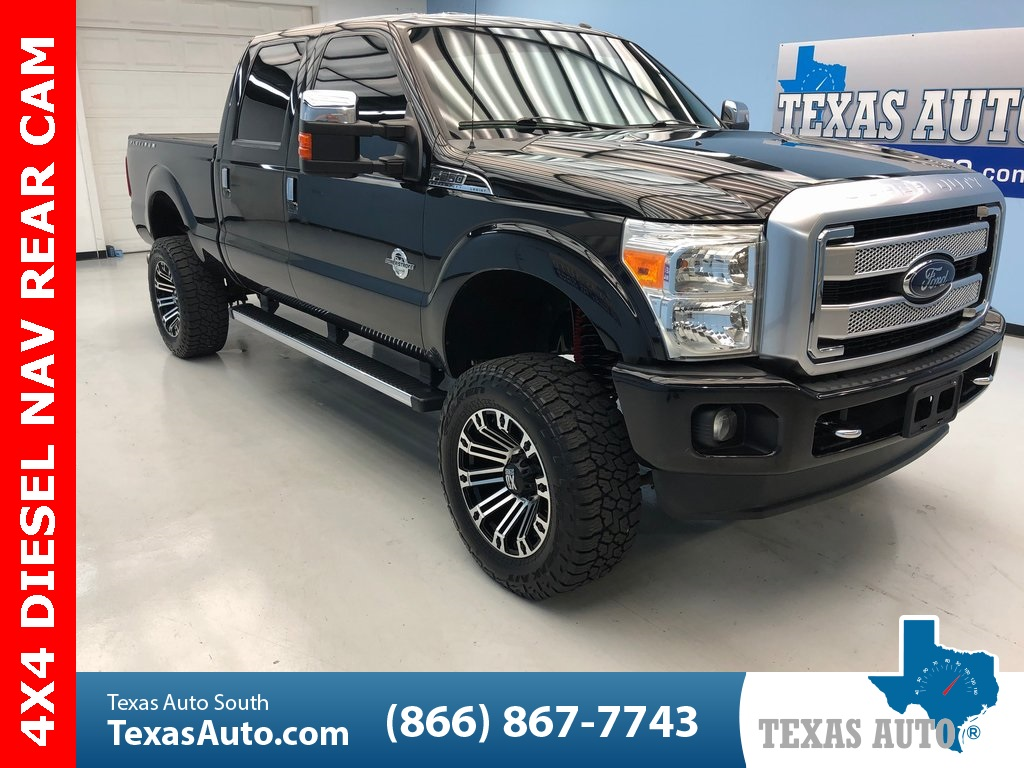 2013 Ford F-250SD Platinum LIFTED-NAVI-REAR CAM