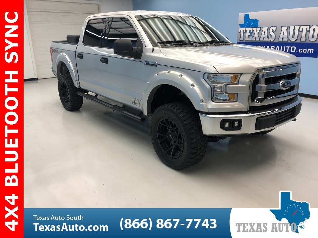 2015 Ford F-150 XLT LIFTED-FENDER FLARES-