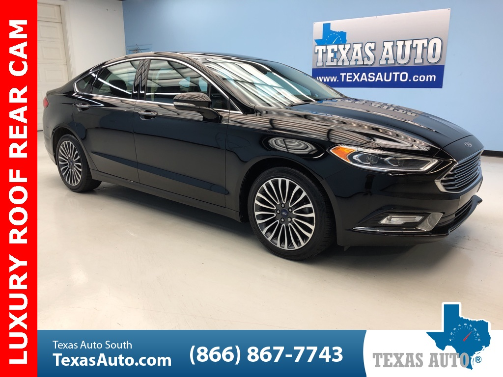 2017 Ford Fusion SE LUXURY PKG, ROOF, REAR CAM