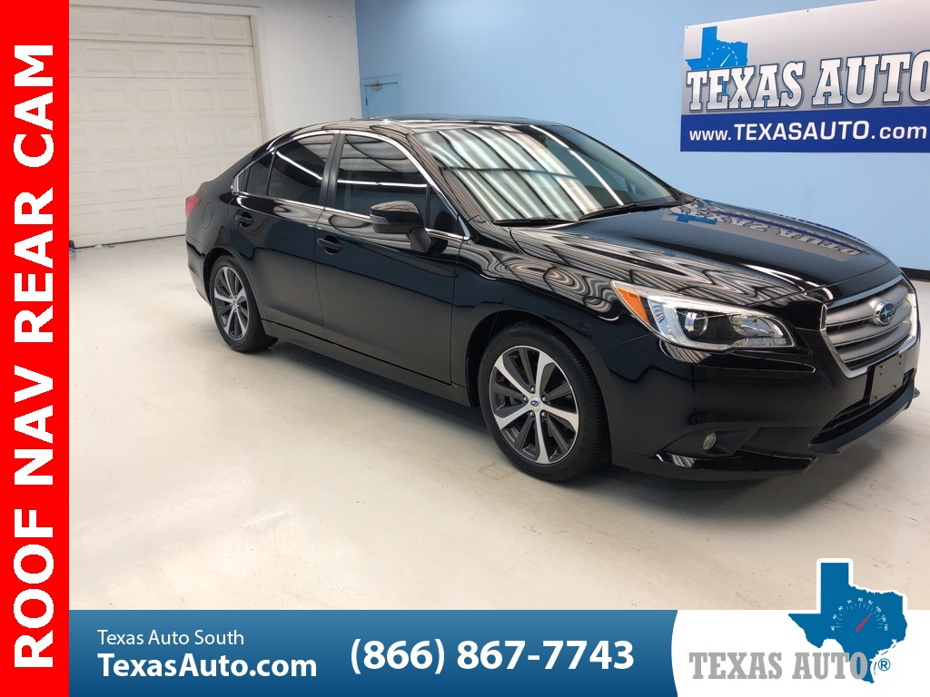Subaru Legacy 3.6 R >> 2017 Subaru Legacy 3 6r Limited Texas Auto South
