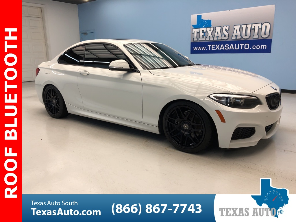 2016 BMW 2 Series 228i ROOF-KEYLESS GO-LEATHER
