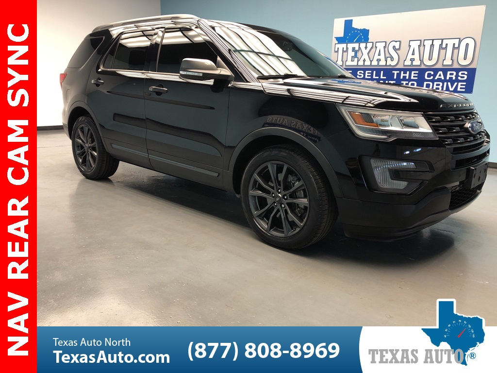 2017 Ford Explorer XLT APPEARANCE PKG-20'S-NAVI-LEATHER