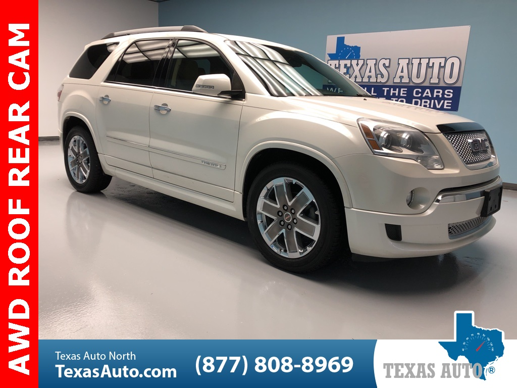 2011 GMC Acadia Denali ROOF-BOSE-HEATED SEATS