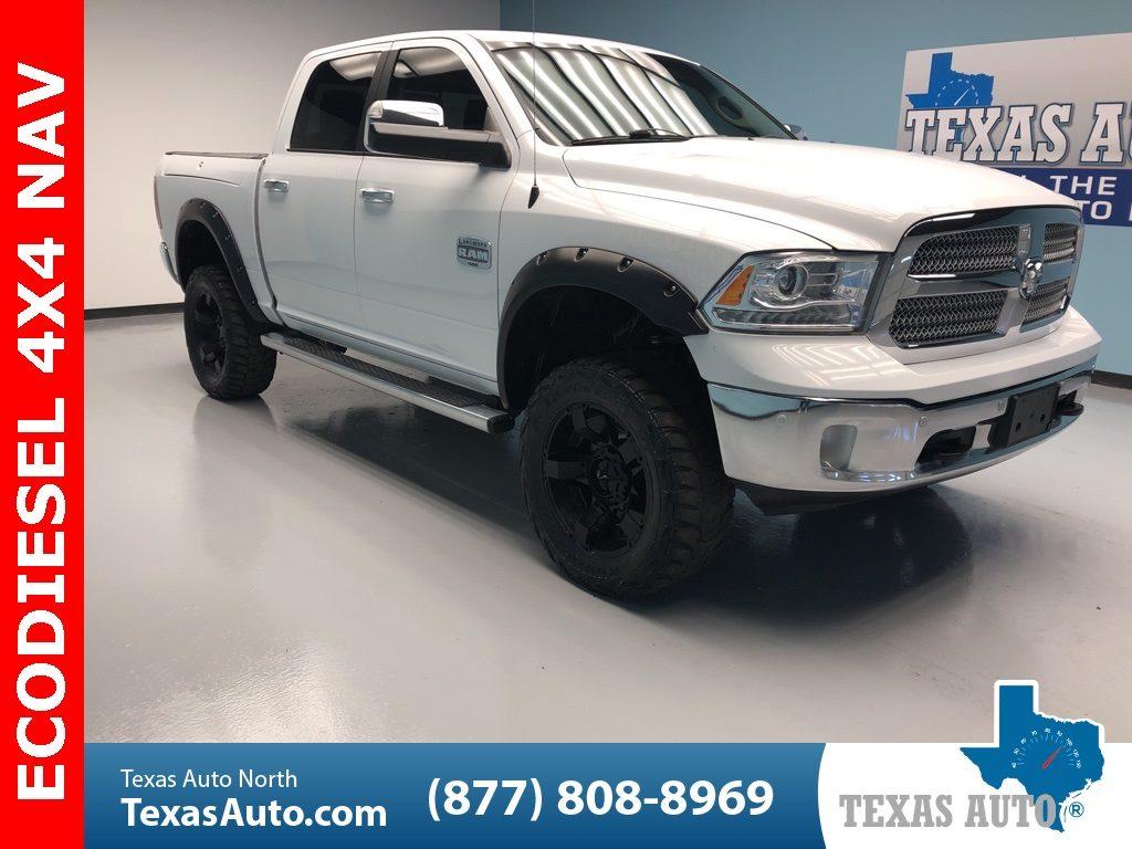 Sold 2014 Ram 1500 Laramie Longhorn Lifted Navi Rear Cam In Houston