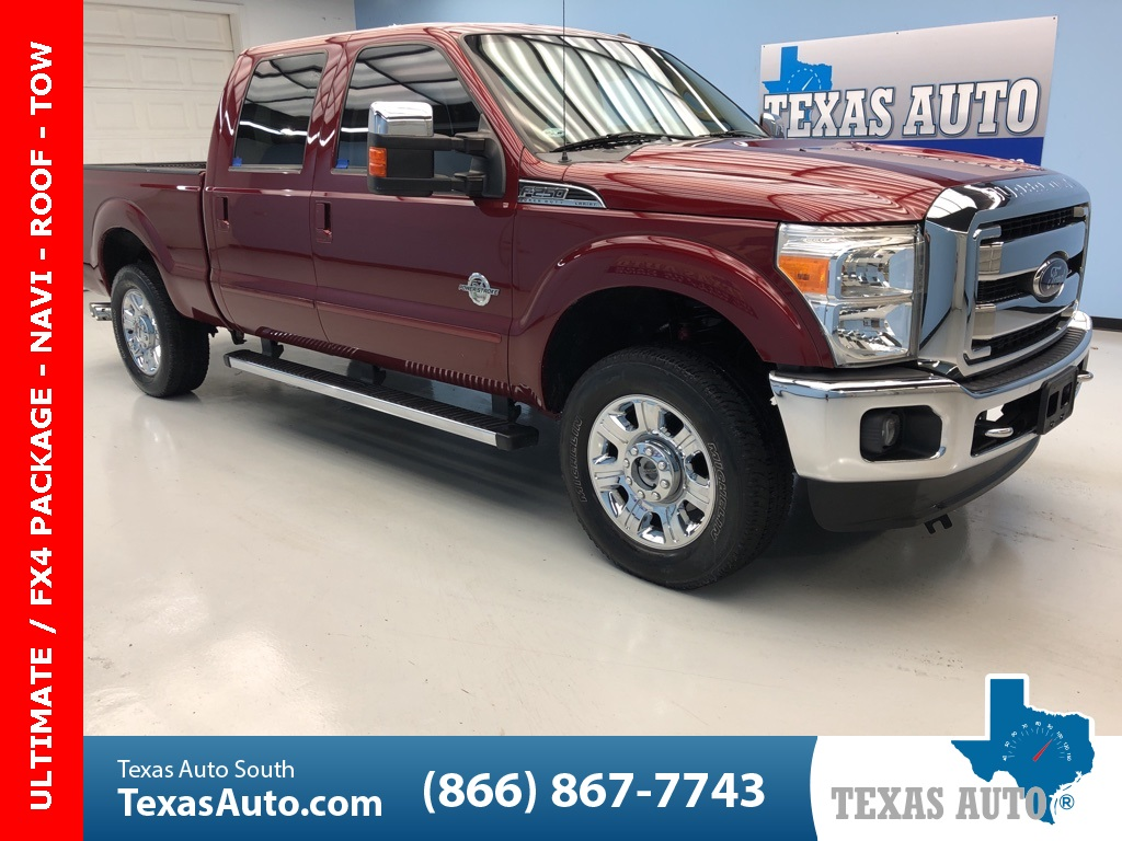 2014 Ford F-250SD Lariat ULTIMATE, FX4, CHROME PKG