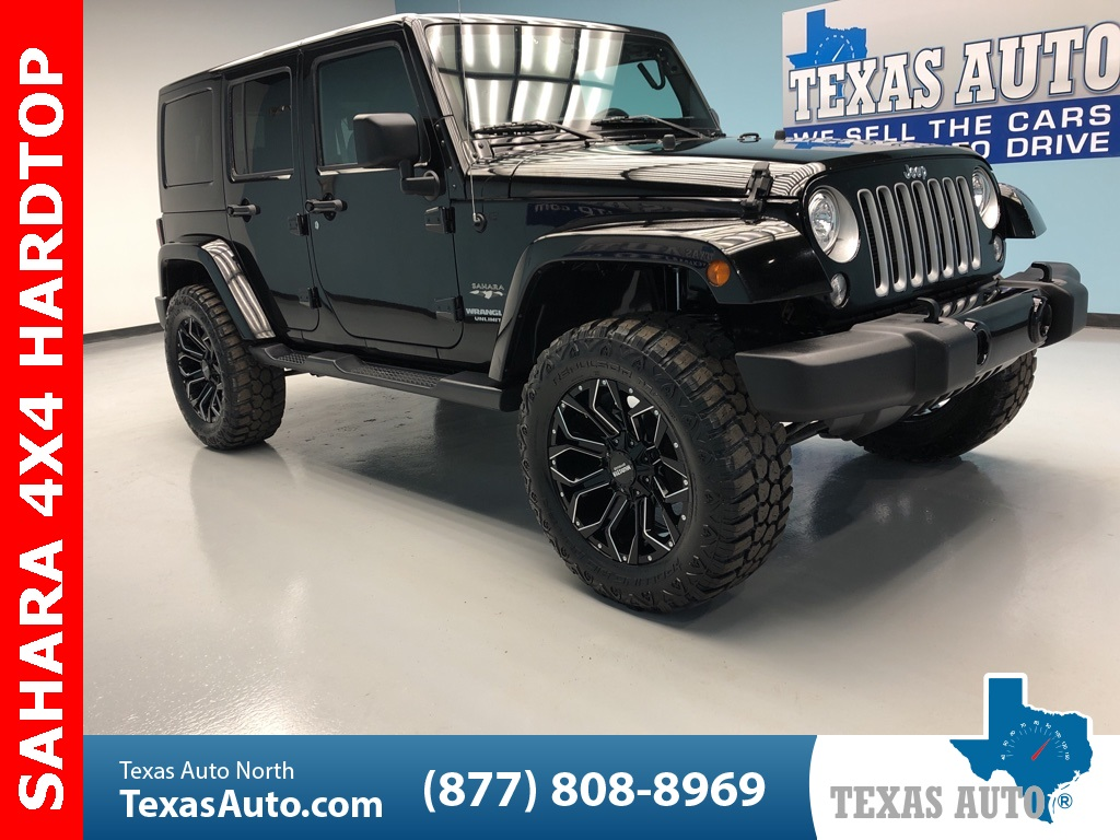 2017 Jeep Wrangler Unlimited Sahara HARD TOP, BLUETOOTH, UCCONECT