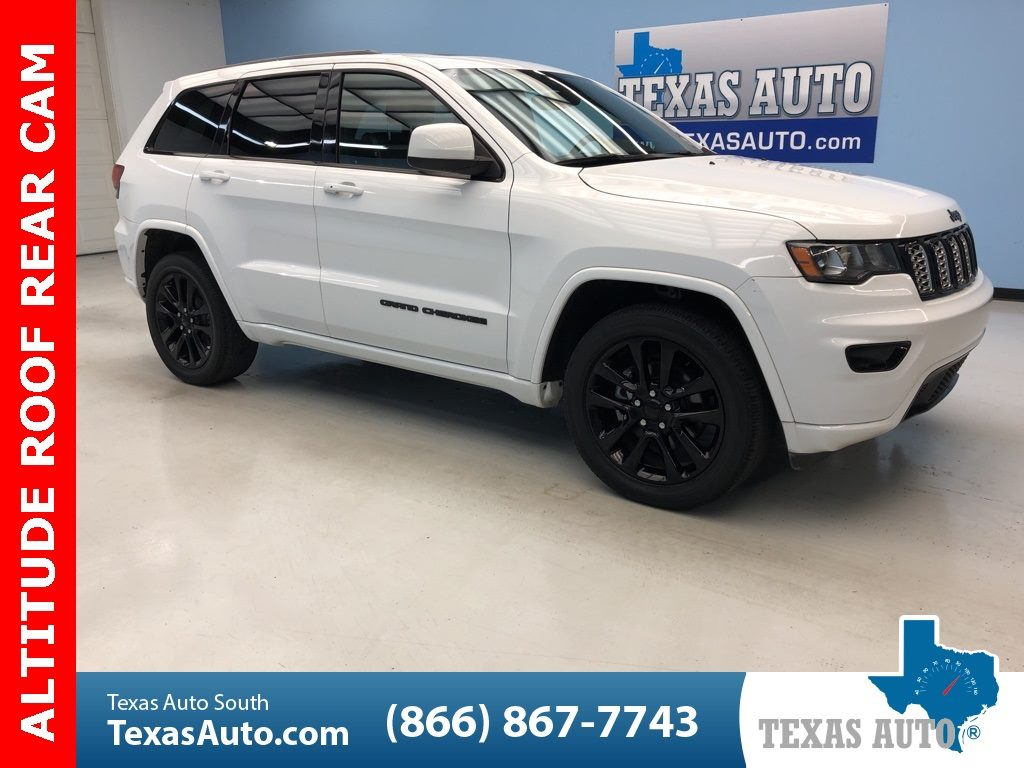 Sold 2017 Jeep Grand Cherokee Altitude Roof Black 20 S Uconnect In Webster