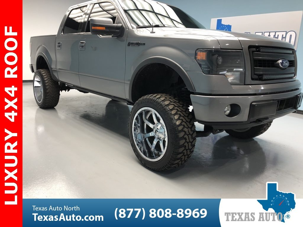 Sold 2014 Ford F 150 Fx4 Lifted Luxury Navi Roof 22 S In Houston