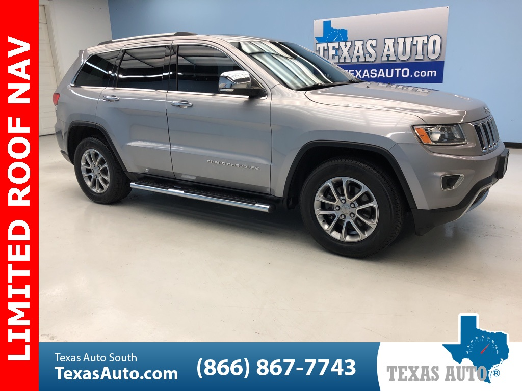 2015 Jeep Grand Cherokee Limited UCONNECT 8.4, NAVI, ROOF, HEAT SEATS