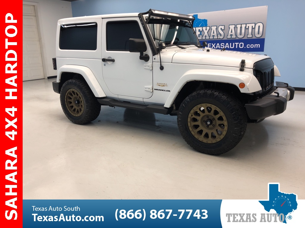 2013 Jeep Wrangler Sahara LEATHER-NAVI-HARDTOP