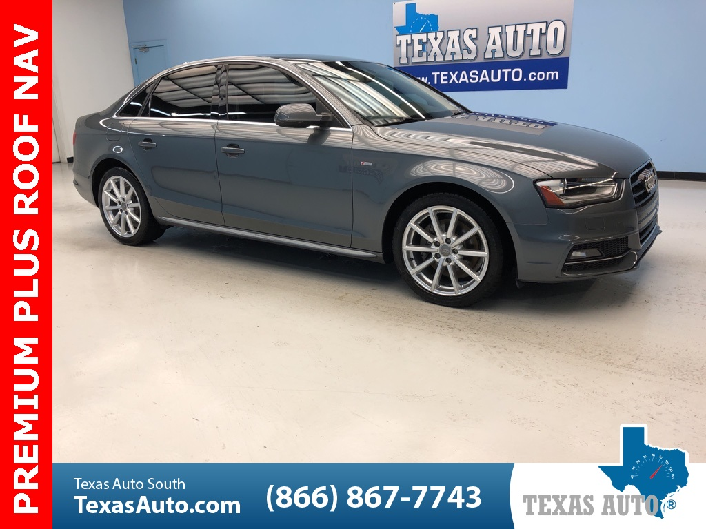 2015 Audi A4 2.0T Premium Plus TECH PKG-NAVI-REAR CAM