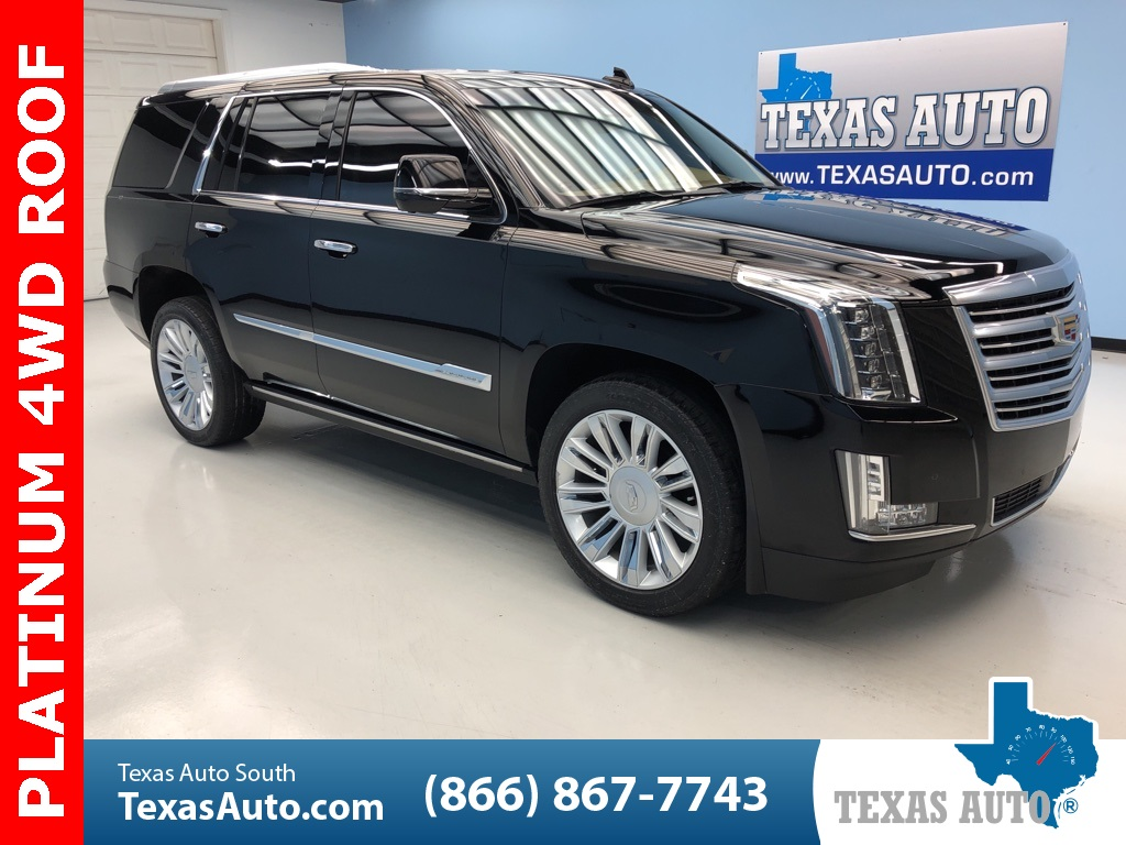 2015 Cadillac Escalade Platinum Edition ROOF-NAVI-BUCKETS-ADAPTIVE