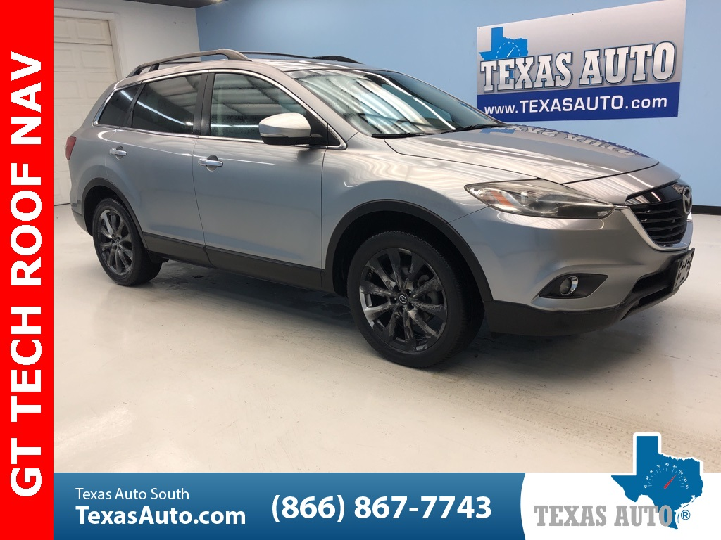 2015 Mazda CX-9 Grand Touring TECH PKG-ROOF-NAVI-3RD ROW