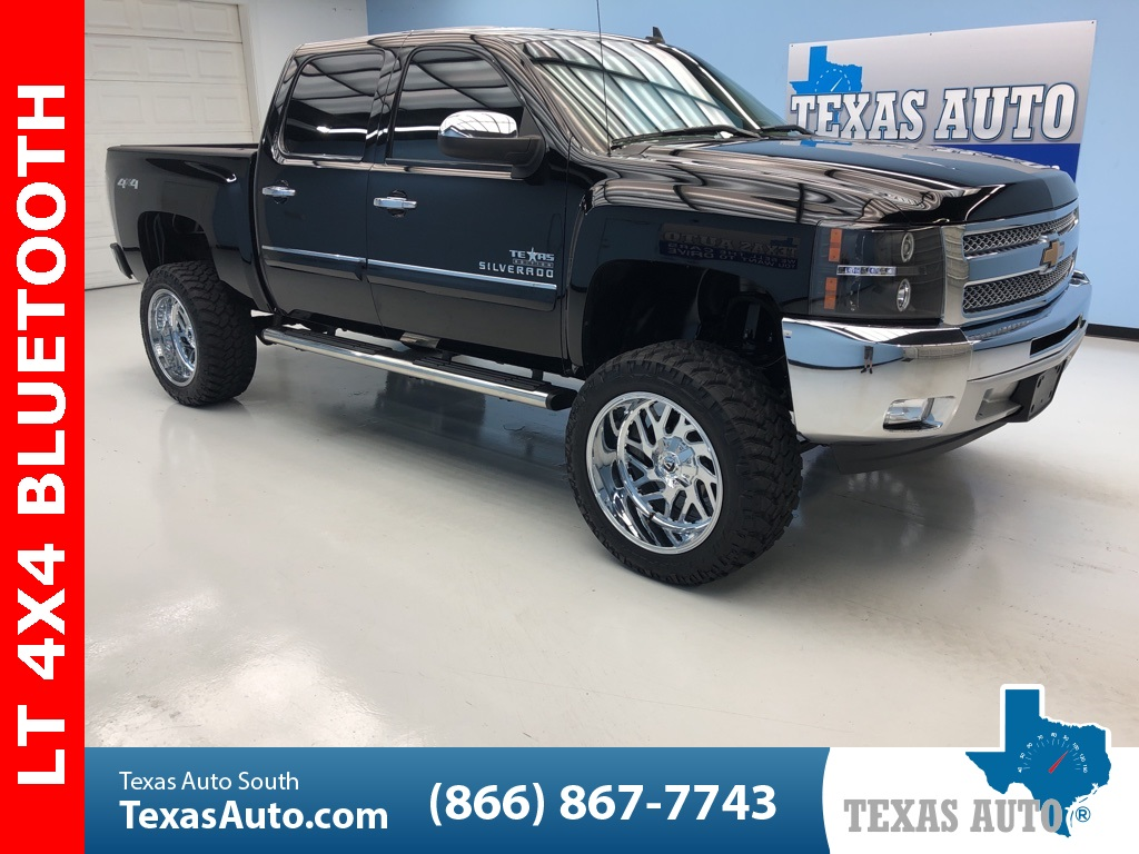 Sold 2013 Chevrolet Silverado 1500 Lt Texas Edition Lifted Power Pkg Tow In Webster