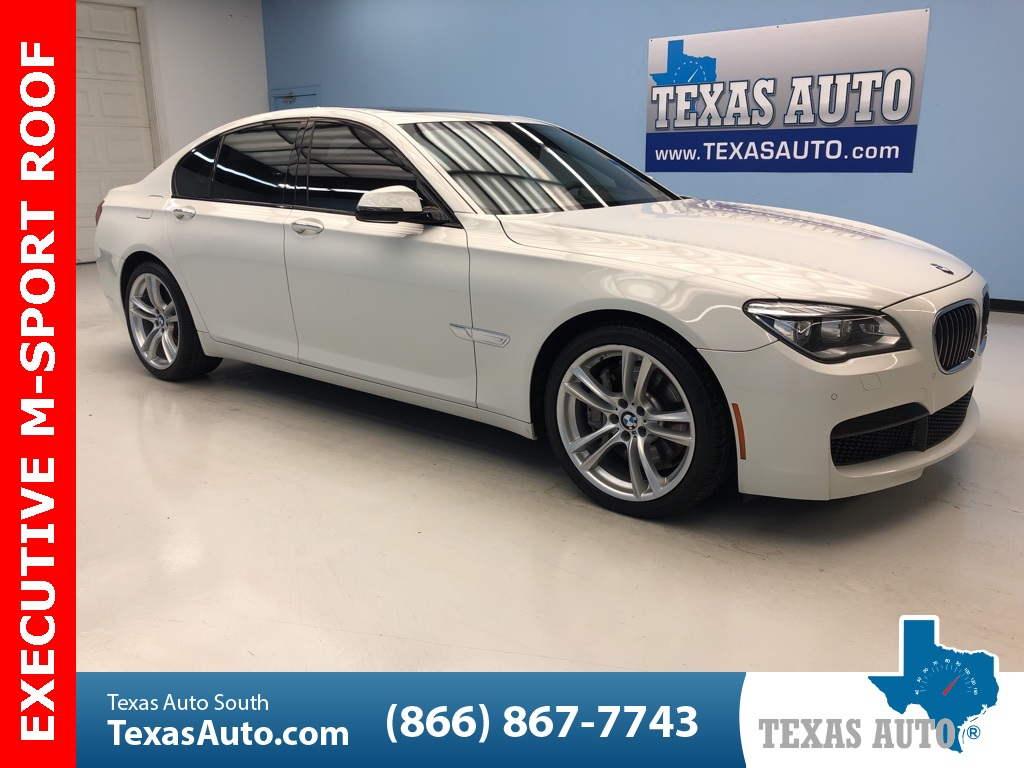 2014 BMW 7 Series 750i M SPORT-LIGHT PKG-EXECUTIVE