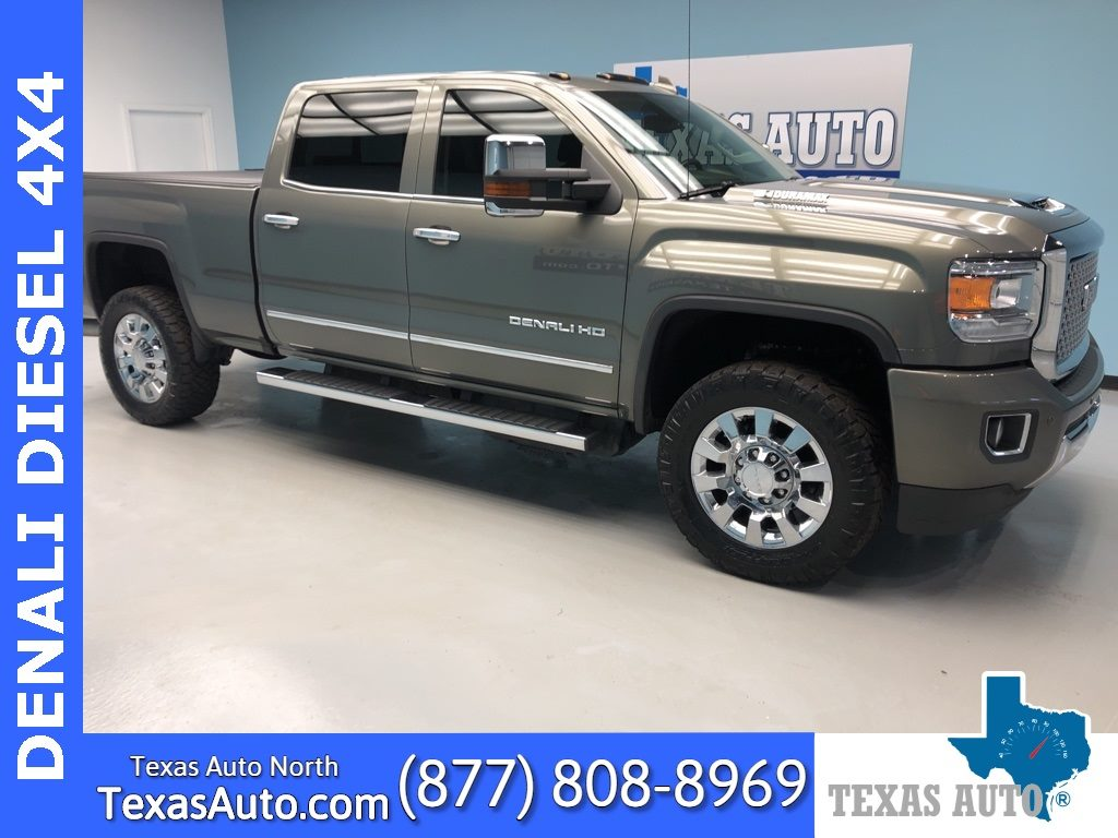 Sold 2017 Gmc Sierra 2500hd Denali Roof Navi Drive Alert Plus Pkg In Houston
