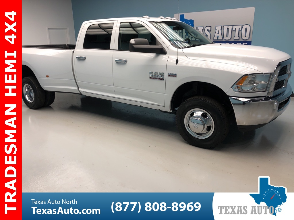 2018 Ram 3500 Tradesman DRW-UCONNECT-REAR CAM-TOW