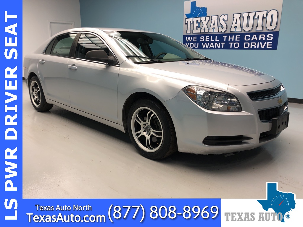 2012 Chevrolet Malibu LS 1FL-POWER PKG-ALLOYS
