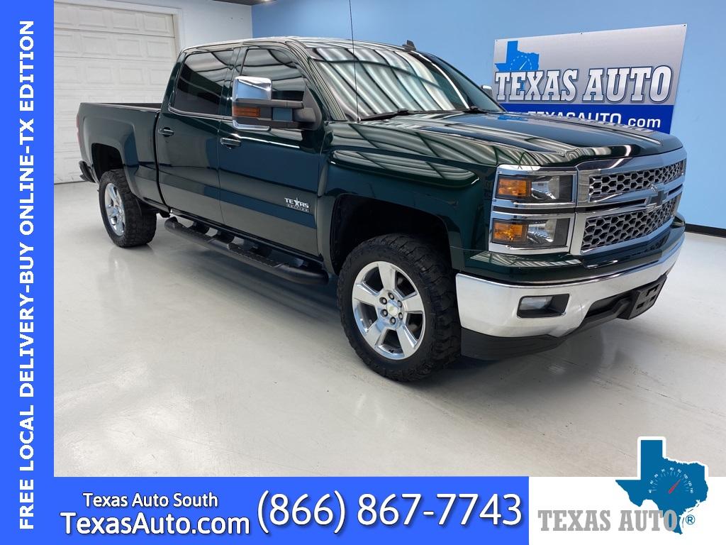 Sold 2014 Chevrolet Silverado 1500 Lt Lt1 Texas Edition Rear Cam Pwr Pkg In Webster