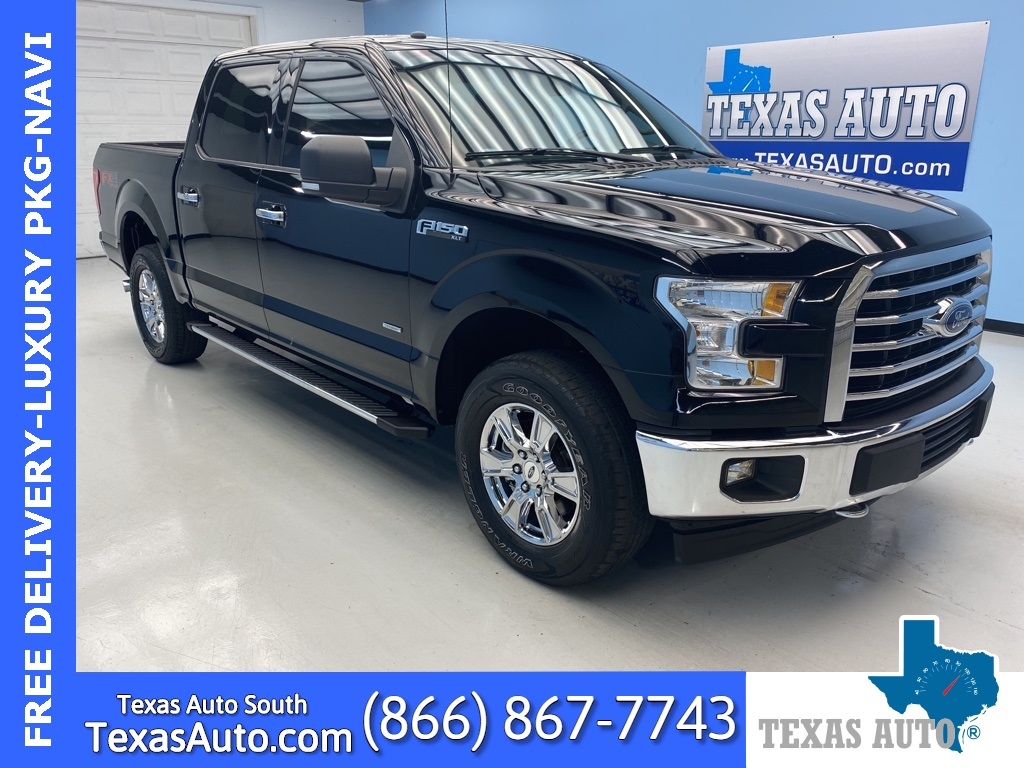 2017 Ford F-150 XLT LUXURY PKG-TEXAS EDITION-FX4-NAVI
