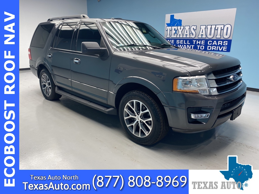 2015 Ford Expedition XLT LEATHER-ROOF-NAVI