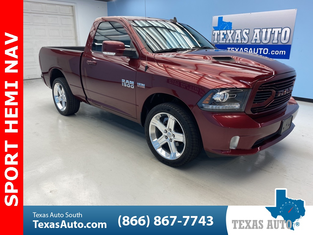 2018 Ram 1500 Sport HEMI-NAVI-20'S-LEATHER-REAR CAM