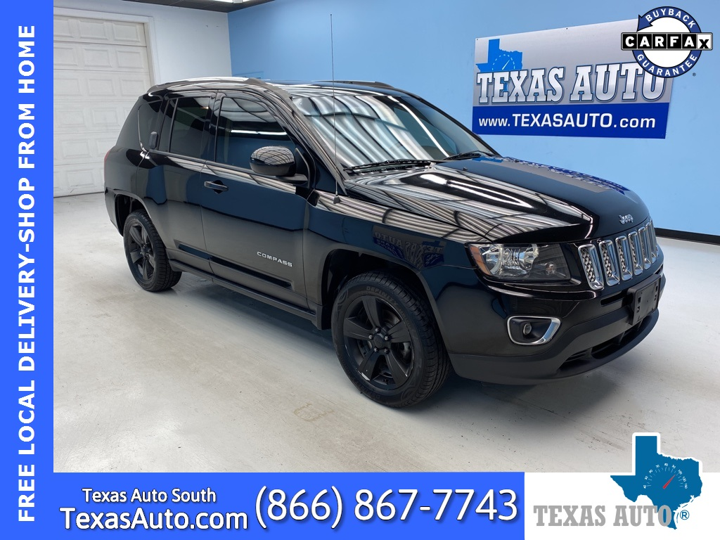 2015 Jeep Compass Latitude HIGH ALTITUDE-ROOF-BLUETOOTH