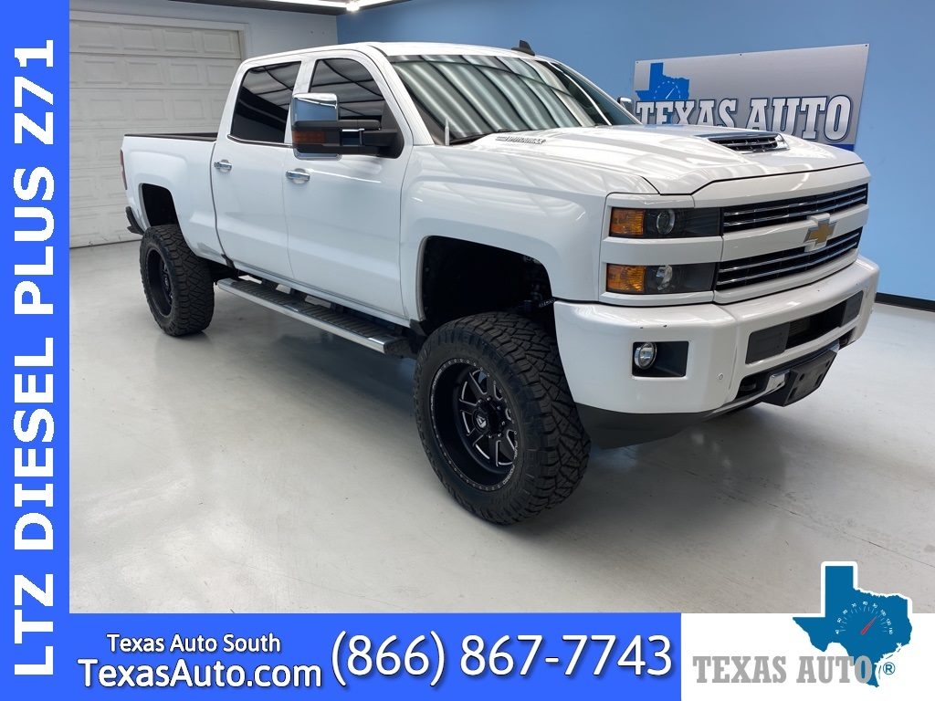 Sold 2017 Chevrolet Silverado 2500hd Ltz Lifted 2lz Navi Drive Alert Rear Cam In Webster
