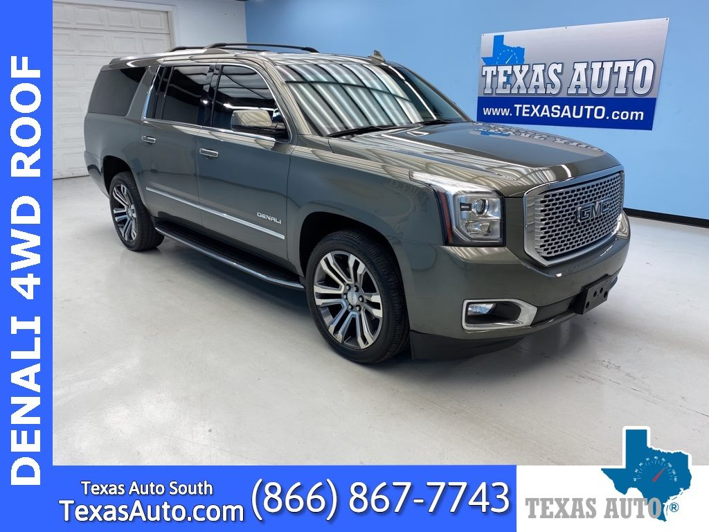 Sold 2017 Gmc Yukon Xl Denali Dvd Navi Buckets Roof In Webster