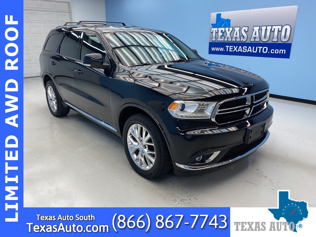 2016 Dodge Durango Limited PREMIUM-NAVI-ROOF-REAR CAM