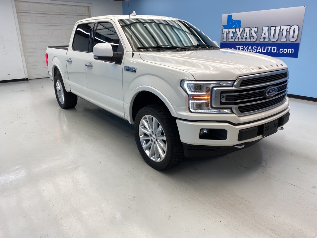 2018 Ford F-150 Limited PANO-NAVI-REAR CAM-LEATHER