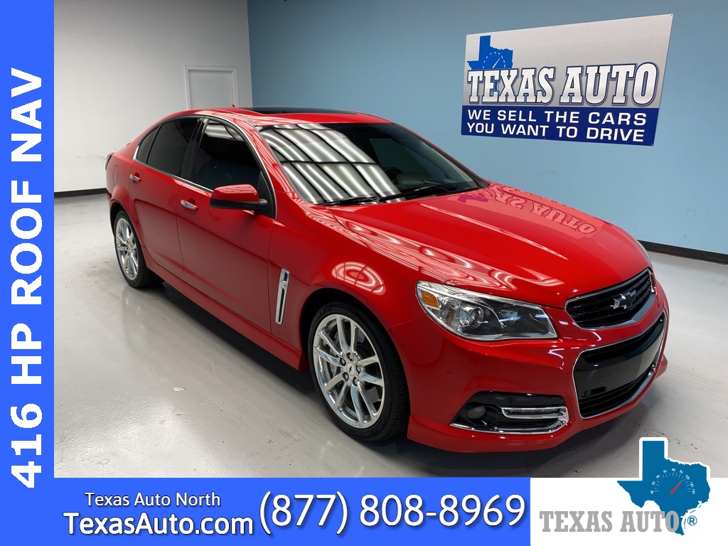 2014 Chevrolet SS Base LEATHER-ROOF-BOSE-NAVI
