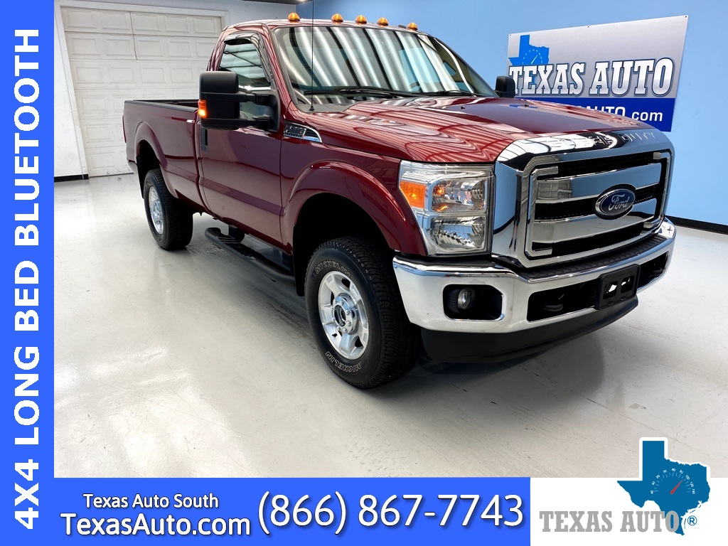 2014 Ford F-250SD XLT GAS 6.2-LONG BED-REAR CAM-BOARDS