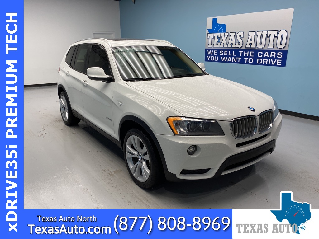 2014 BMW X3 xDrive35i NAVI-ROOF-REAR CAM