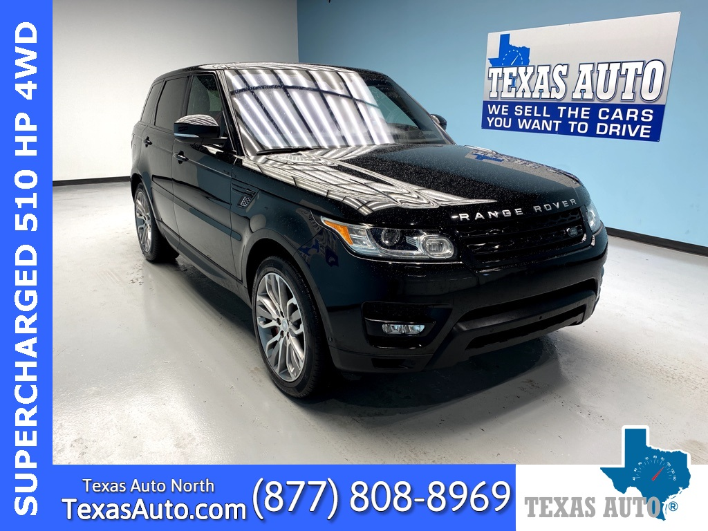 Sold 2016 Land Rover Range Rover Sport 5 0l V8 Supercharged Pano Navi Rear Cam In Houston