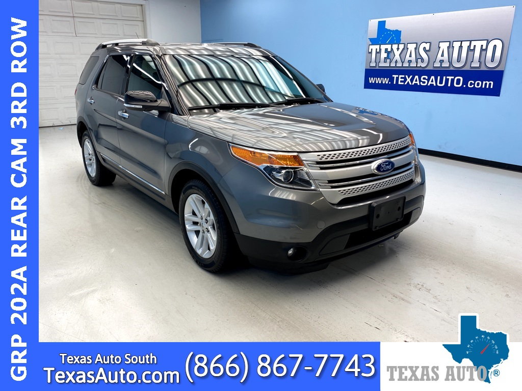 2014 Ford Explorer XLT LEATHER-3RD ROW-REAR CAM