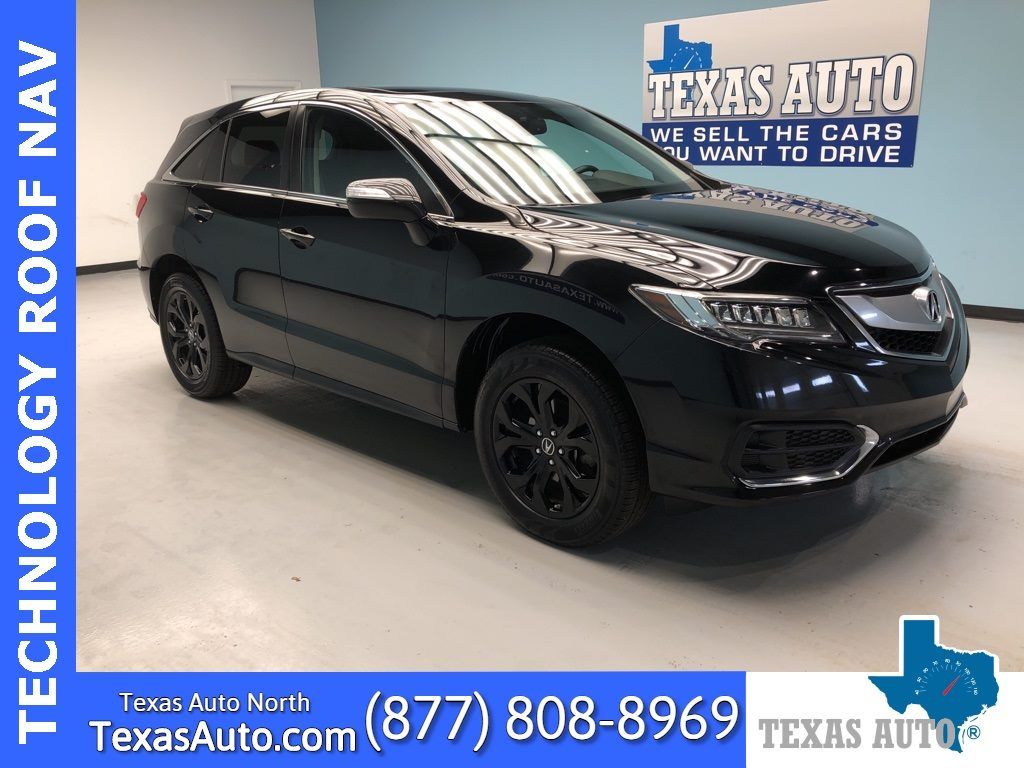 Sold 2017 Acura Rdx Technology Package Navi Roof Rear Cam In Houston