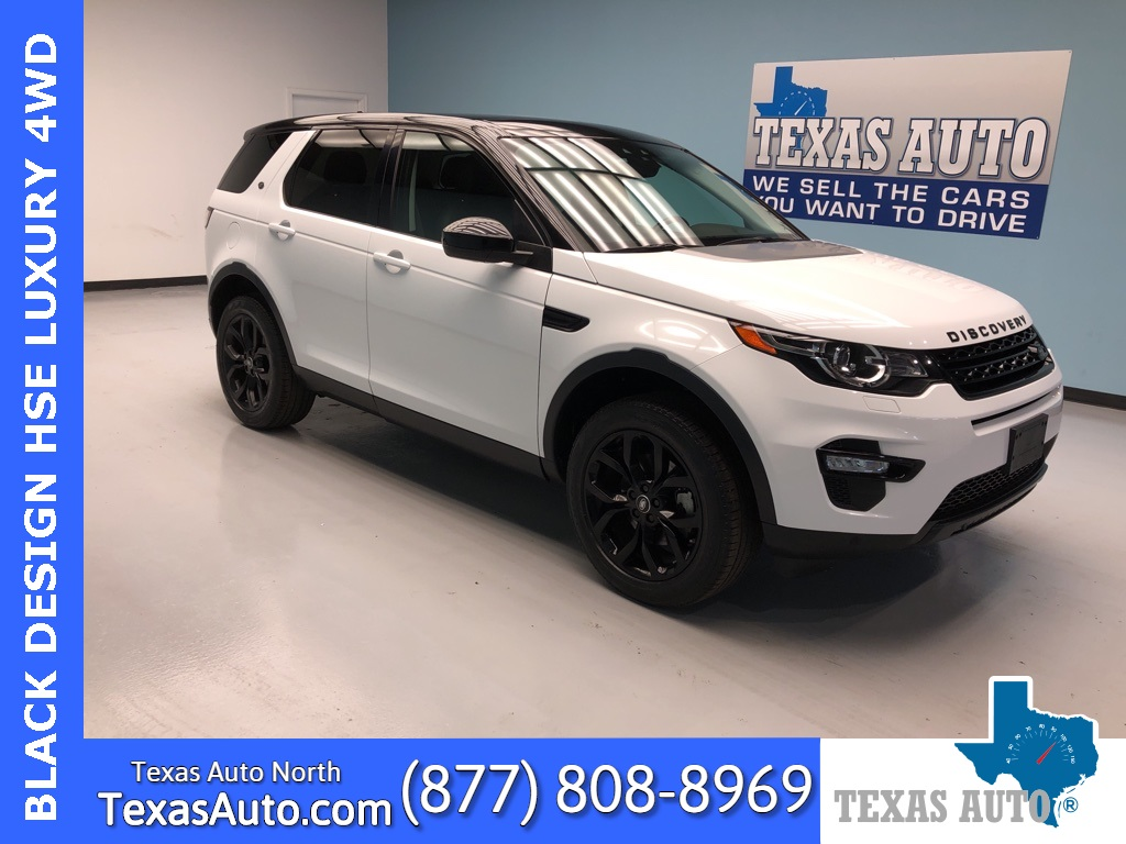 2016 Land Rover Discovery Sport HSE Luxury BLACK DESIGN-3RD ROW-PANO-NAVI