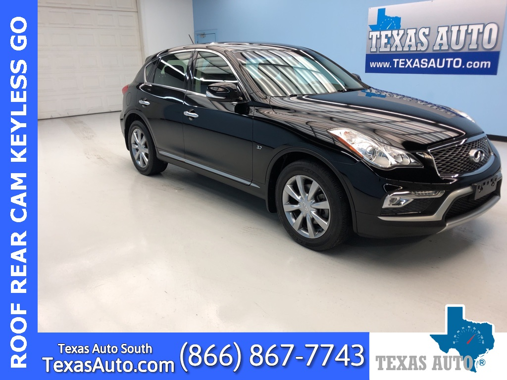 2017 INFINITI QX50 Base LEATHER-ROOF-REAR CAM-HEAT SEATS