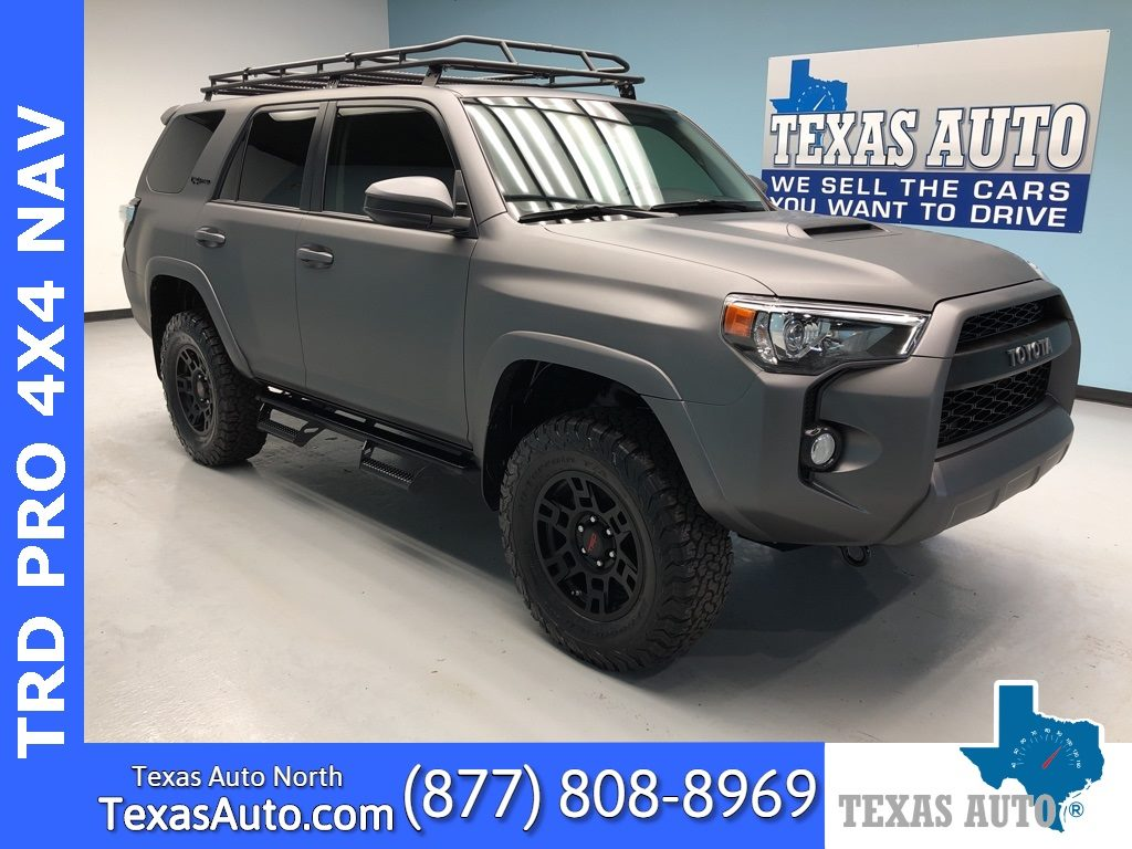 Sold 2018 Toyota 4runner Trd Pro Premium Lifted Leather Navi In Houston