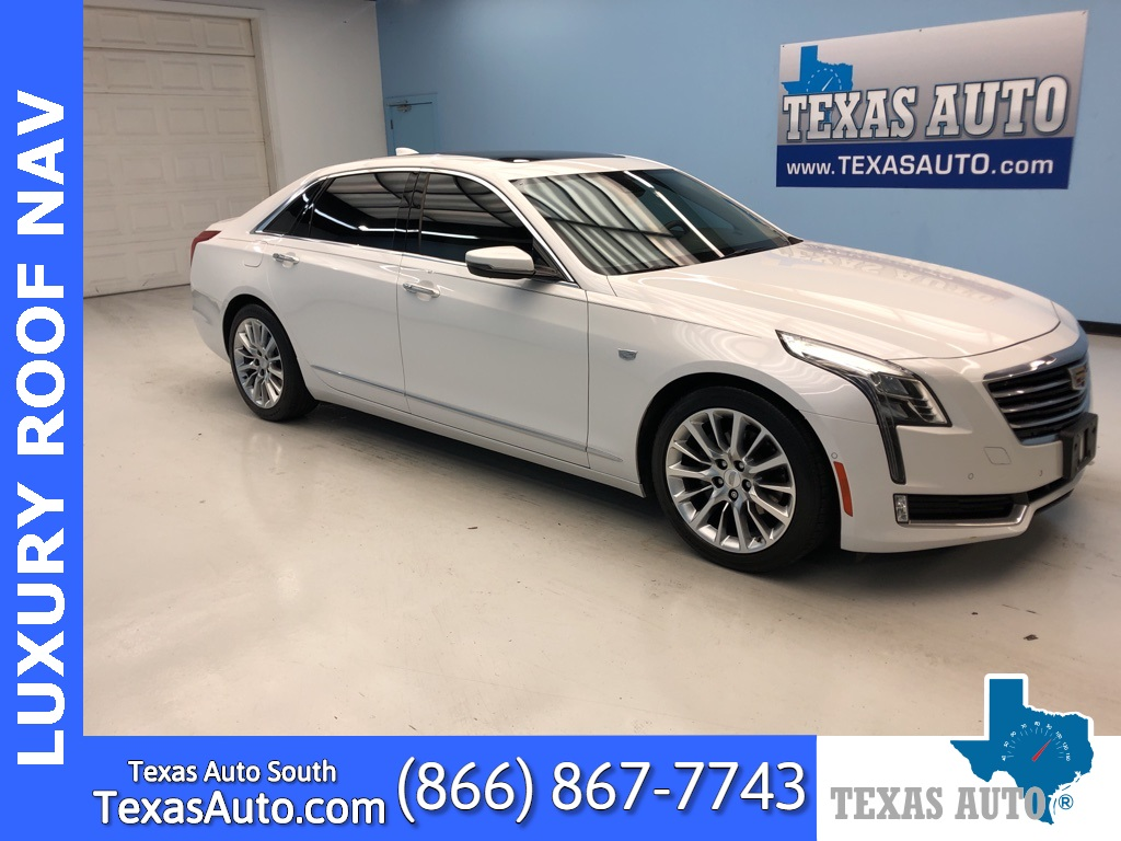 2016 Cadillac CT6 2.0L Turbo Luxury PANO-NAVI-REAR CAM