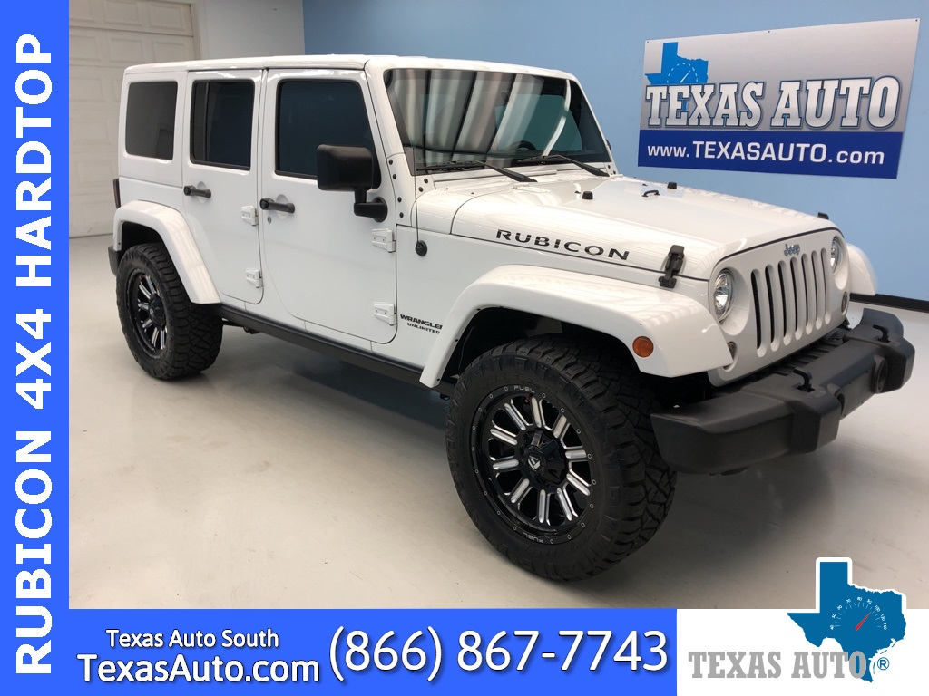 Used 2017 Jeep Wrangler Unlimited Rubicon In Webster