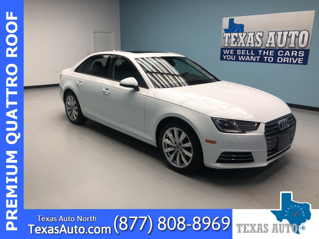 2017 Audi A4 2.0T Premium quattro-ROOF-REAR CAM-BLUETOOTH