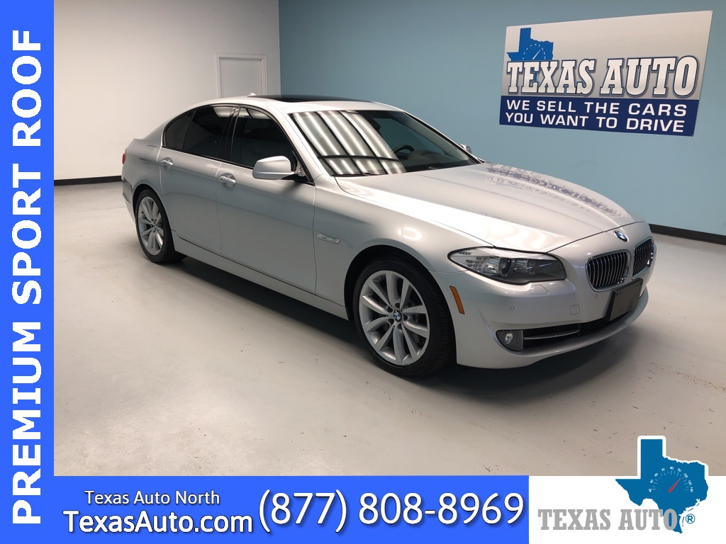 2011 BMW 5 Series 535i SPORT-PREMIUM-NAVI-REAR CAM-ROOF